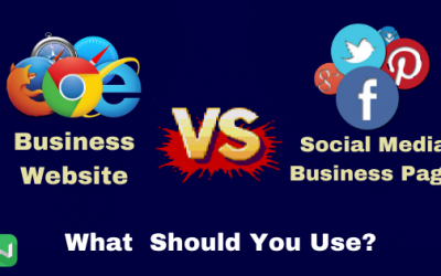 Business Website or Facebook Business Page?