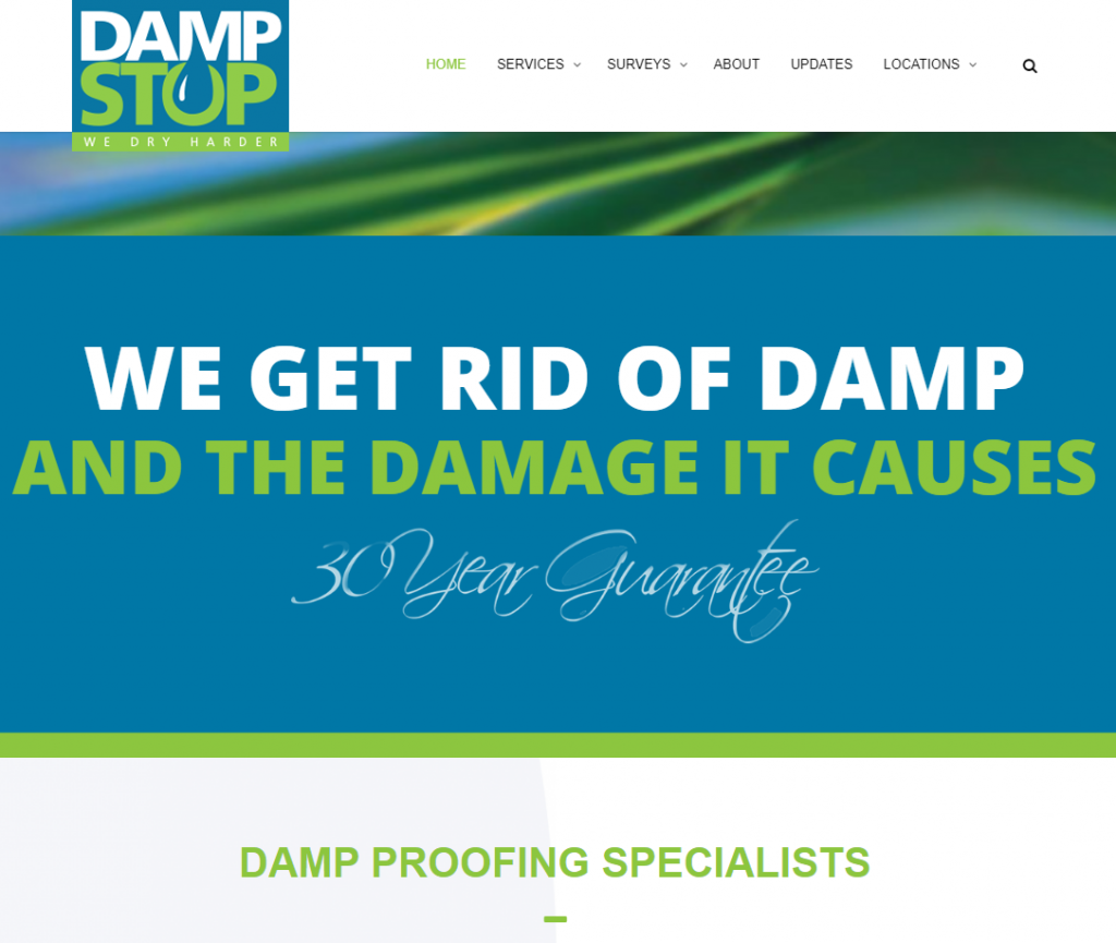 dampstop website review