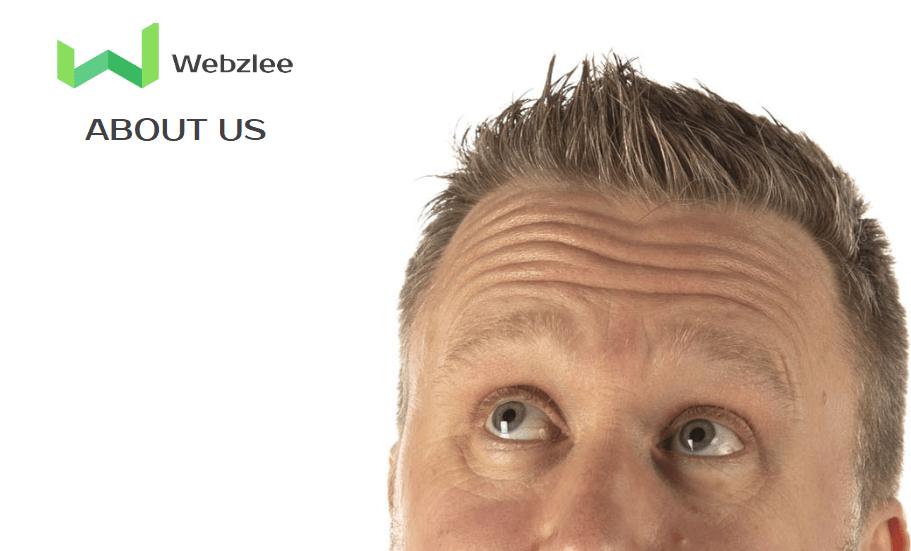 Faces in Websites build trust